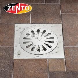 Phễu thoát sàn chống mùi hôi inox Zento TS201-L (200x200)